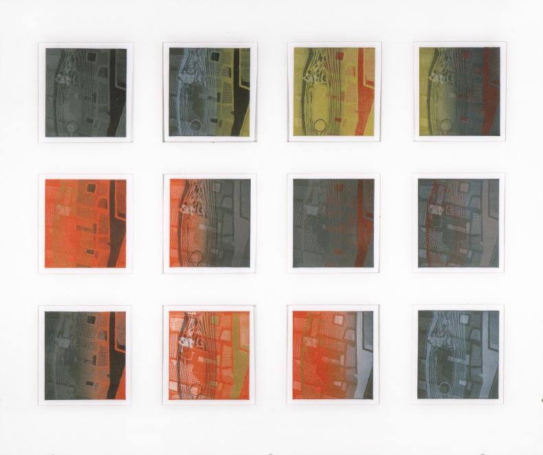 Variazioni-di-paradigma-1-montaggio-di-12-incisioni-ad-acquaforte-su-doppia-lastra-di-zinco-sovrapposta-mm-155x140-misura-totale-cm-80x95-1999-1
